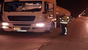 Antalya Trafiği Yük Taşıyan Araçlara Yönelik Denetim Çalışması Yapıldı