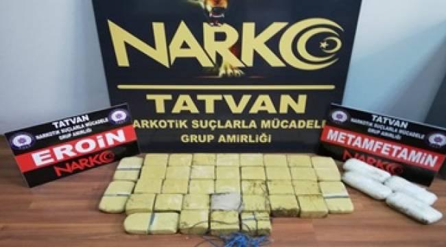 Bitlis Emniyeti ve Hakkari Emniyet Müdürlüğü İle Koordineli Yapılan çalışmalar
