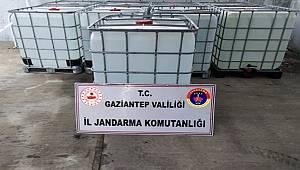 Gaziantep İl Jandarma Komutanlığı Ekiplerince Sahte Dezenfektan üreten İş yerine Baskın