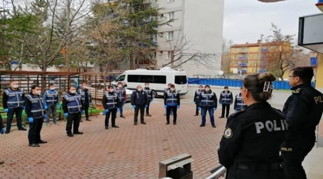 Konya'da Sağlık Hizmet Timi Kahraman Silah Arkadaşlarımız İçin Görevde