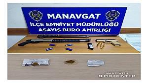 Manavgat İlçesinde 1 Şahsı Silah Zoru ile Kaçırarak Darp Eden Şüpheliler Yakalandı