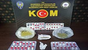BALIKESİR'DE POLİSTEN UYUŞTURUCU OPERASYONU!