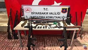 Diyarbakır İl Jandarma Komutanlığı Tarafından Ele Geçirilen Silahlar
