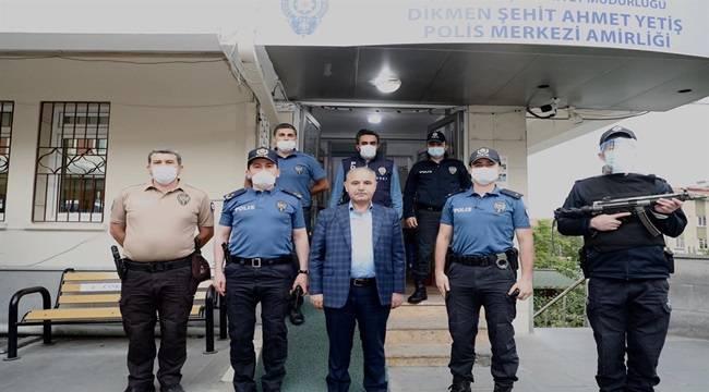 Emniyet Genel Müdürümüz Sayın Mehmet Aktaş, Şehit Ahmet Yetiş Polis Merkezi Amirliğinde Görevli Personelimizi Ziyaret Etti