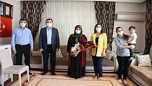 Müdürümüz Sayın Mehmet Murat ULUCAN ve eşi Selda ULUCAN Hanımefendi Anneler Günü ziyareti