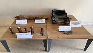 Pkk/Pyd Silahlı Terör Örgütüne ait Patlayıcı Malzemeler Ele Geçirildi