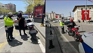 Ülke Genelinde Motosiklet/Kask Kullanımı Özel Denetimi Gerçekleştirildi