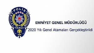 2020 Yılı Genel Atamaları Gerçekleştirildi
