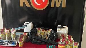 Gaziantep KOM Şube Müdürlüğü Kaçak Sigara ve Nargile Operasyonu Gerçekleştirdi