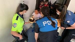 Hakkari Emniyet Müdürlüğünden Doğum Günü Sürprizi