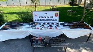 Kütahya'da kaçak silah operasyonu 6 gözaltı
