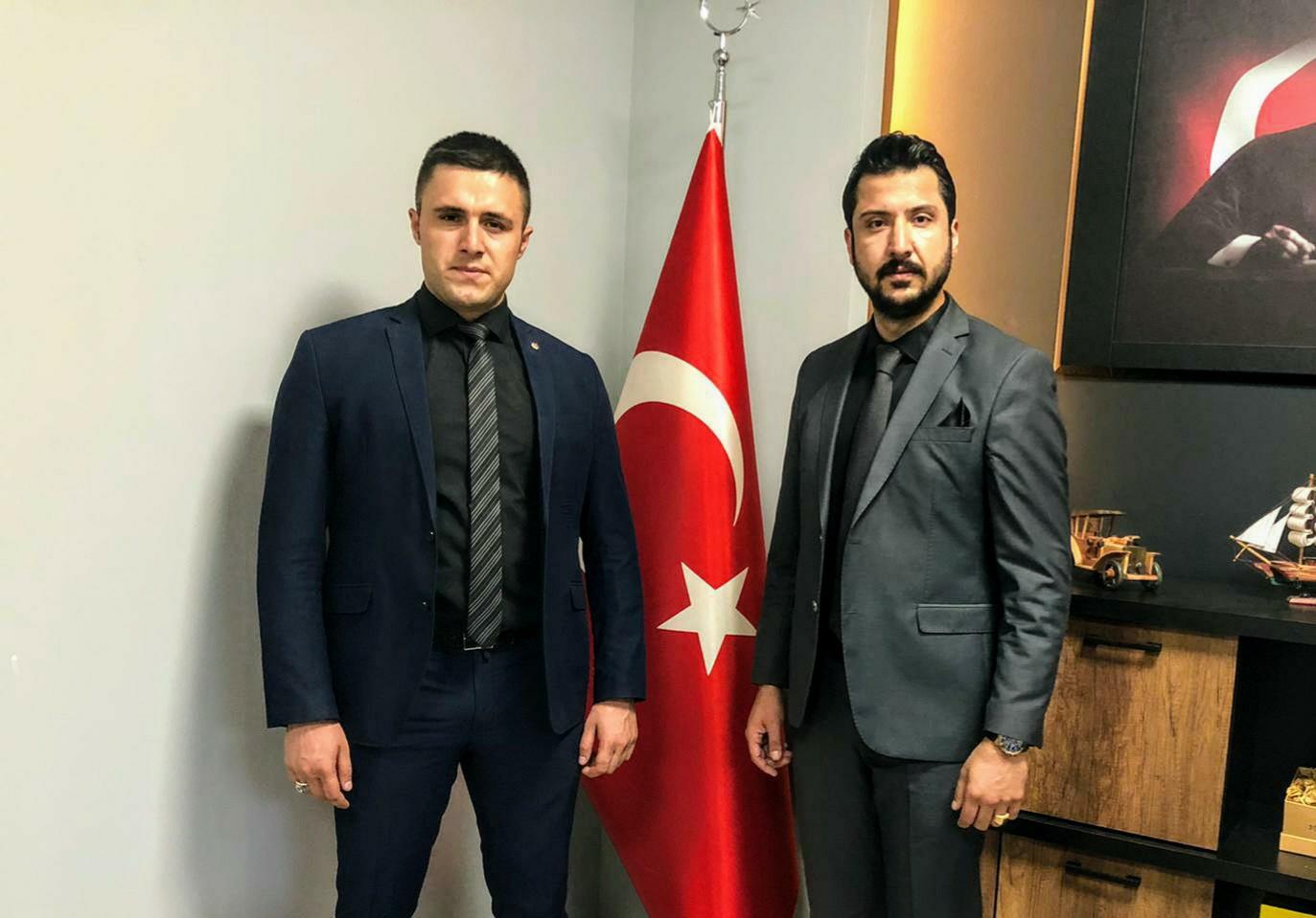 Mehmet Altunova Suriye Güneydoğu İstihbarat Müdürü, Gider'ile Biraraya Geldi