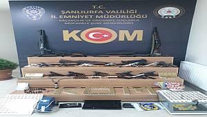 Organize Suç Örgütlerine İlimiz Merkezli Eş Zamanlı Operasyon Yapıldı