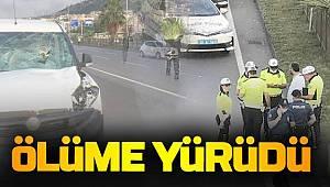Trabzon'da Hafif ticari aracın çarptığı yaya hayatını kaybetti