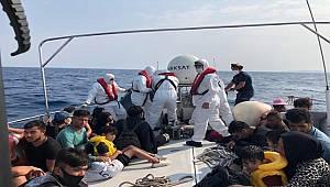 Aydın Açıklarında 26 Düzensiz Göçmen Kurtarılmıştır