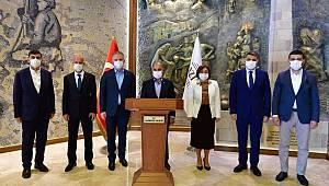 Emniyet Genel Müdürü Sayın Mehmet Aktaş Gaziantep'de Bir Dizi Ziyaret Gerçekleştirdi