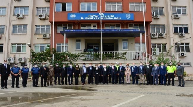 Emniyet Genel Müdürü Sayın Mehmet Aktaş Hatay İlinde Bir Dizi Ziyaret Gerçekleştirdi