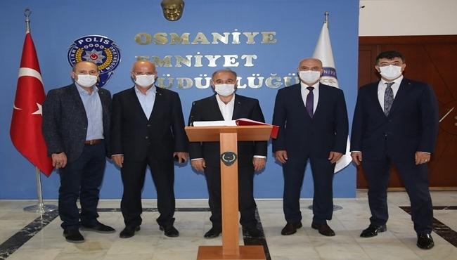 Emniyet Genel Müdürümüz Sayın Mehmet AKTAŞ'ın İl Emniyet Müdürlüğümüze Ziyaretleri