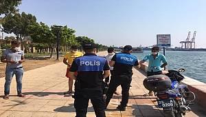 Mersin Polisi Koronavirüsle Mücadelede Ön Saflarda