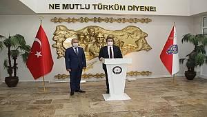 Muğla Valisi Sayın Orhan TAVLI İl Emniyet Müdürlüğümüzü ziyaret etti.