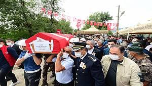 Şehit Polis Memuru Osman Gül Son Yolculuğuna Uğurlandı