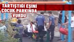 Ankara'da eşini silahla yaralayan şüpheli gözaltına alındı.