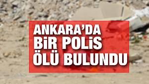 Ankara'da Polis Memuru Mezarlıkta Ölü Bulundu
