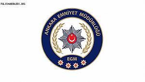 Ankara Emniyet Müdürlüğü 12.09.2020 Tarihli Basın Açıklaması