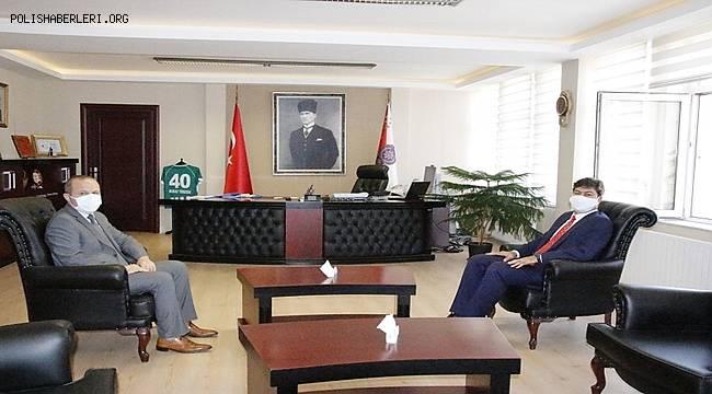 Esnaf, Sanatkârlar ve Kooperatifçilik Genel Müdürü Sayın Necmettin ERKAN'ın makam ziyareti
