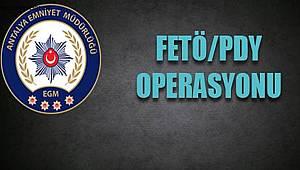 FETÖ/PDY Silahlı Terör Örgütüne Üye Olma Suçundan Beş Şahıs Yakalandı