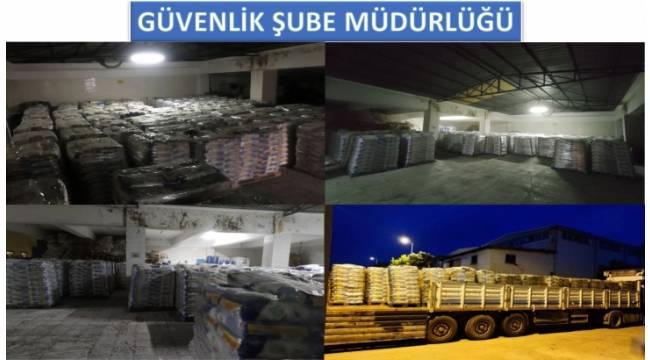 Gaziantep Güvenlik Şube Müdürlüğü ekiplerinden Sahte Deterjan Operasyonu