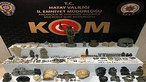 Hatay ve Şanlıurfa'da Tarihi Eser Kaçakçılığına yönelik Operasyon