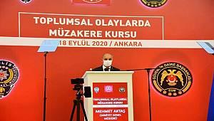 """İçişleri Bakanımız Sayın Süleyman Soylu'nun katılımıyla """"Toplumsal Olaylarda Müzakere Açılış Töreni"""" Gerçekleştirildi"""