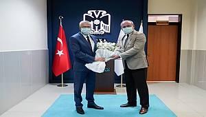 İl Emniyet Müdürümüz Sayın Mustafa AYDIN, Adli Yıl Açılışı Sebebiyle Konya Cumhuriyet Başsavcısı Sayın Ramazan SOLMAZ'ı makamında ziyaret etmiştir