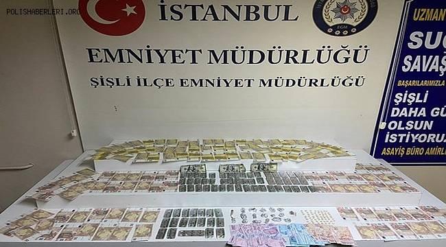 İstanbul Emniyet Müdürlüğü Ekipleri Şişli İlçesinde Uyuşturucu Ticareti yapanlara yönelik Operasyon gerçekleştirdi