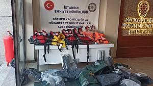 İstanbul Emniyet Müdürlüğü Göçmen Kaçakçılığıyla Mücadele ve Hudut Kapıları Şube Müdürlüğü Çalışmaları