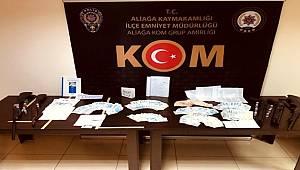 İzmir'de helikopter destekli tefeci operasyonu 15 gözaltı
