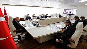 İzmir'de Koronavirüs Salgını Değerlendirme Toplantısı Yapıldı İl Emniyet Müdürü Sn. Dr. Hüseyin AŞKIN da katıldı.