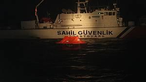 İzmir İli Açıklarında 11 Düzensiz Göçmen Kurtarılmıştır