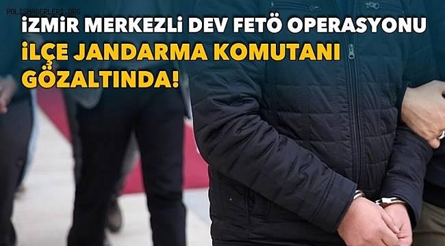 İzmir merkezli 28 ilde FETÖ operasyonu, 55 gözaltı