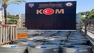 Manavgat İlçesinde 5607 SKM Suçundan 2 Şahıs Yakalandı
