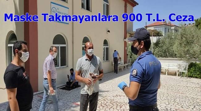 Maske Takmayanlara 900 T.L. Ceza