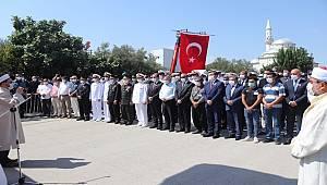 Mersin'de Şehit Cenaze Töreni Düzenlendi