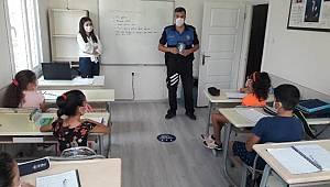 Mersin Polisinden Özel Etüt Merkezlerine Covid-19 uyarısı