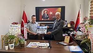 MHP İlçe Başkanından Emniyet Müdürüne Ziyaret