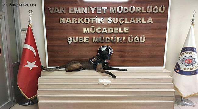 Narkotik Madde Arama Köpeği ZEUS ile Uyuşturucu Operasyonu