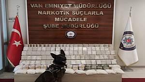 Van Emniyet Müdürlüğü Uyuşturucu Operasyonu Düzenledi