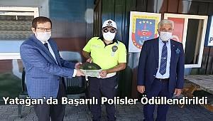 Yatağan 'da Başarılı Polisler Ödüllendirildi
