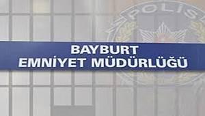 Bayburt'ta Hırsızlıkla Mücadele Devam Ediyor