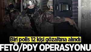 Bursa'da FETÖ/PDY operasyonu düzenlendi Biri polis 12 kişi gözaltına alındı